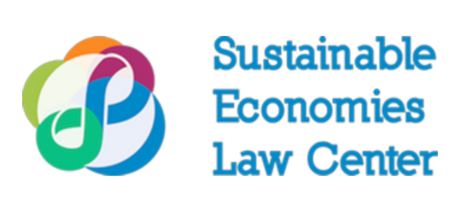 Sustainable Economies Law Center, Oakland, CA logo