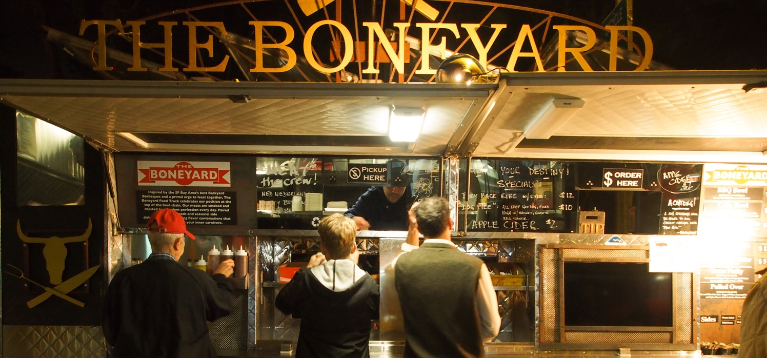 The Boneyard, San Bruno, CA logo