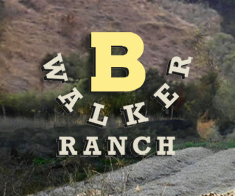 B Walker Ranch 501c3, Walnut Creek, CA logo