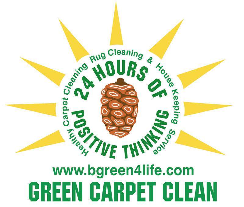 Green Carpet Clean & Housekeeping Service, Oakland, CA logo