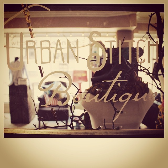 Urban Stitch Boutique, Oakland, CA logo