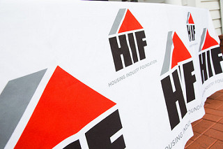 Housing Industry Foundation, San Mateo, CA logo