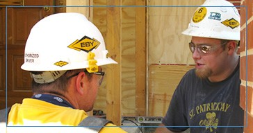 Eby Construction, Oakland, CA logo