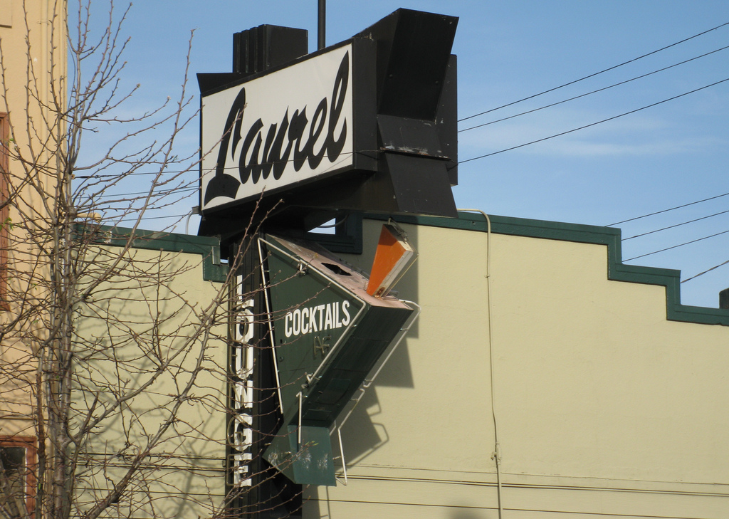 Laurel Lounge, Oakland, CA logo