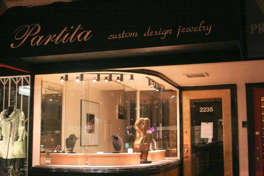 Partita Custom Design, San Francisco, CA logo