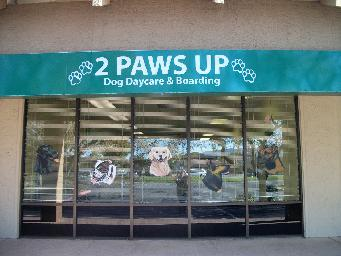 2 Paws UP Dog Daycare & Boarding, Inc., San Jose, CA logo