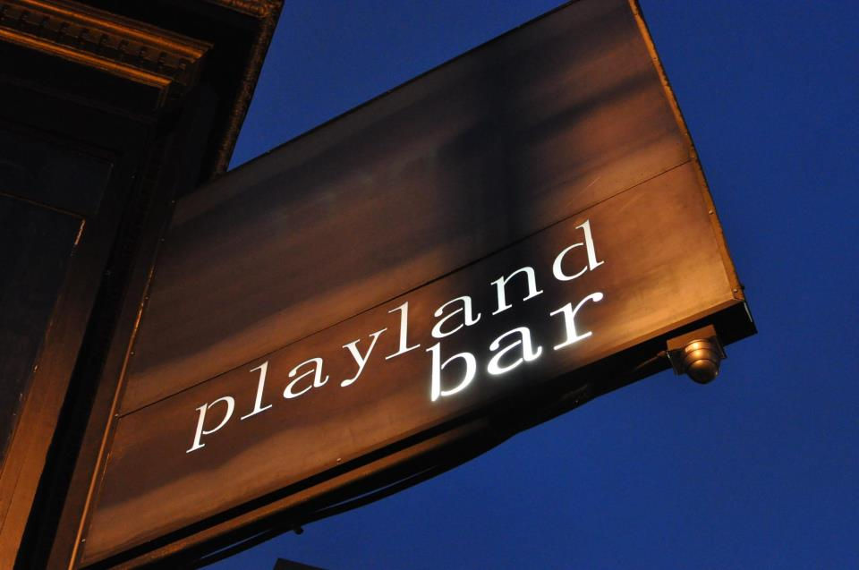 Playland Bar, San Francisco, CA logo