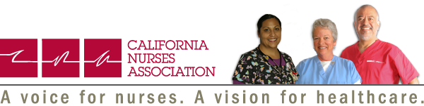 The California Nurses Association, Oakland, CA logo