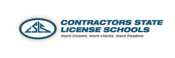Contractors State License Schools, Oakland, CA logo