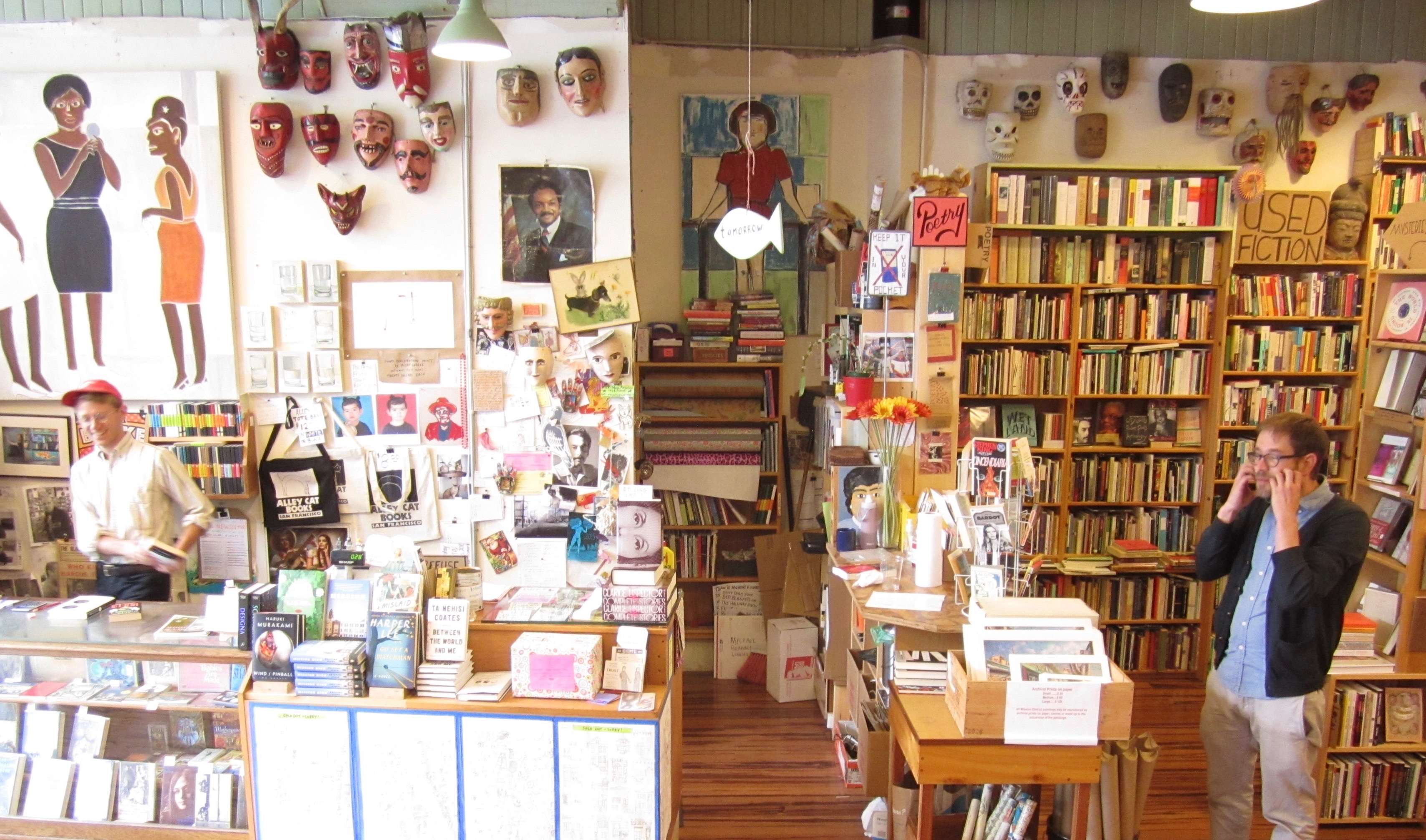 Alley Cat Bookshop, San Francisco, CA - Localwise business profile picture