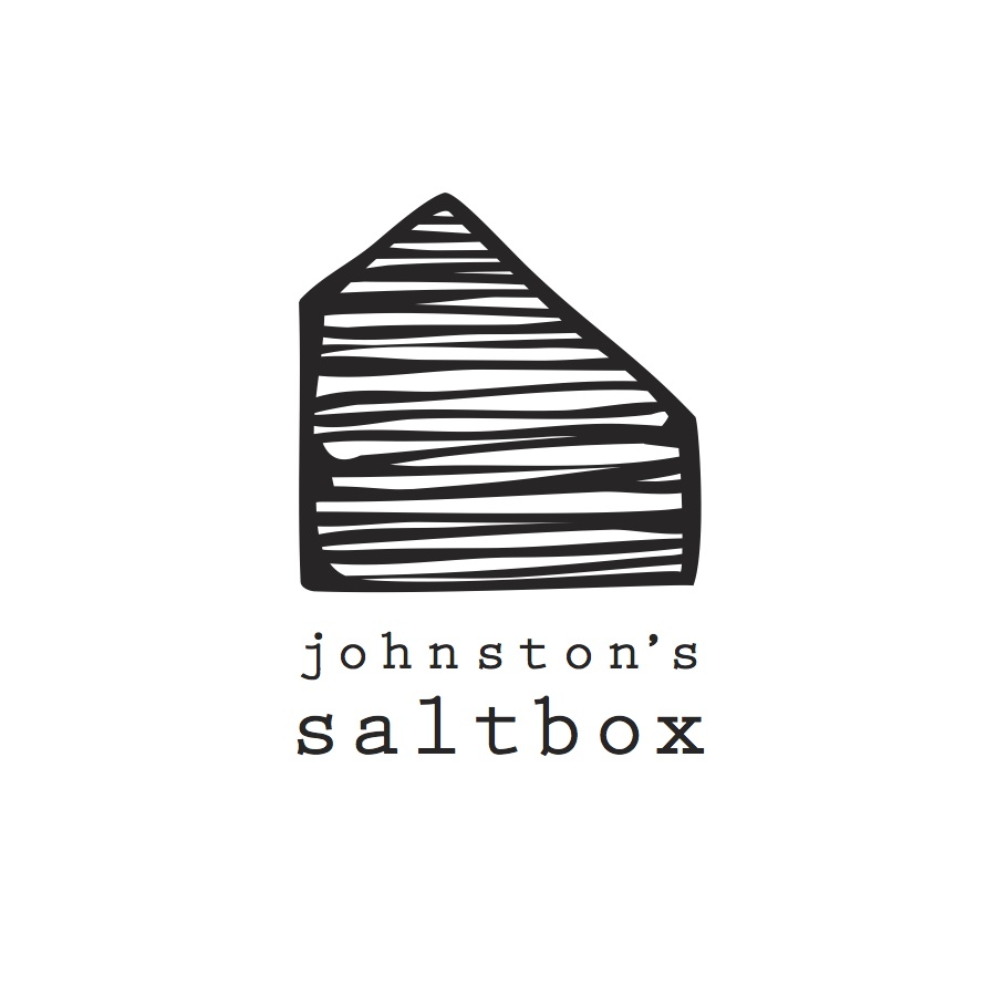 Johnston's Saltbox, San Carlos, CA logo