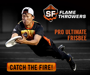 San Francisco FlameThrowers Professional Ultimate Frisbee Team, San Francisco, CA - Localwise business profile picture