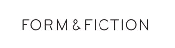 Form & Fiction, San Francisco, CA logo