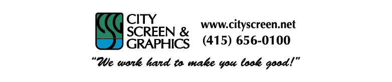 City Screen & Graphics, San Francisco, CA logo