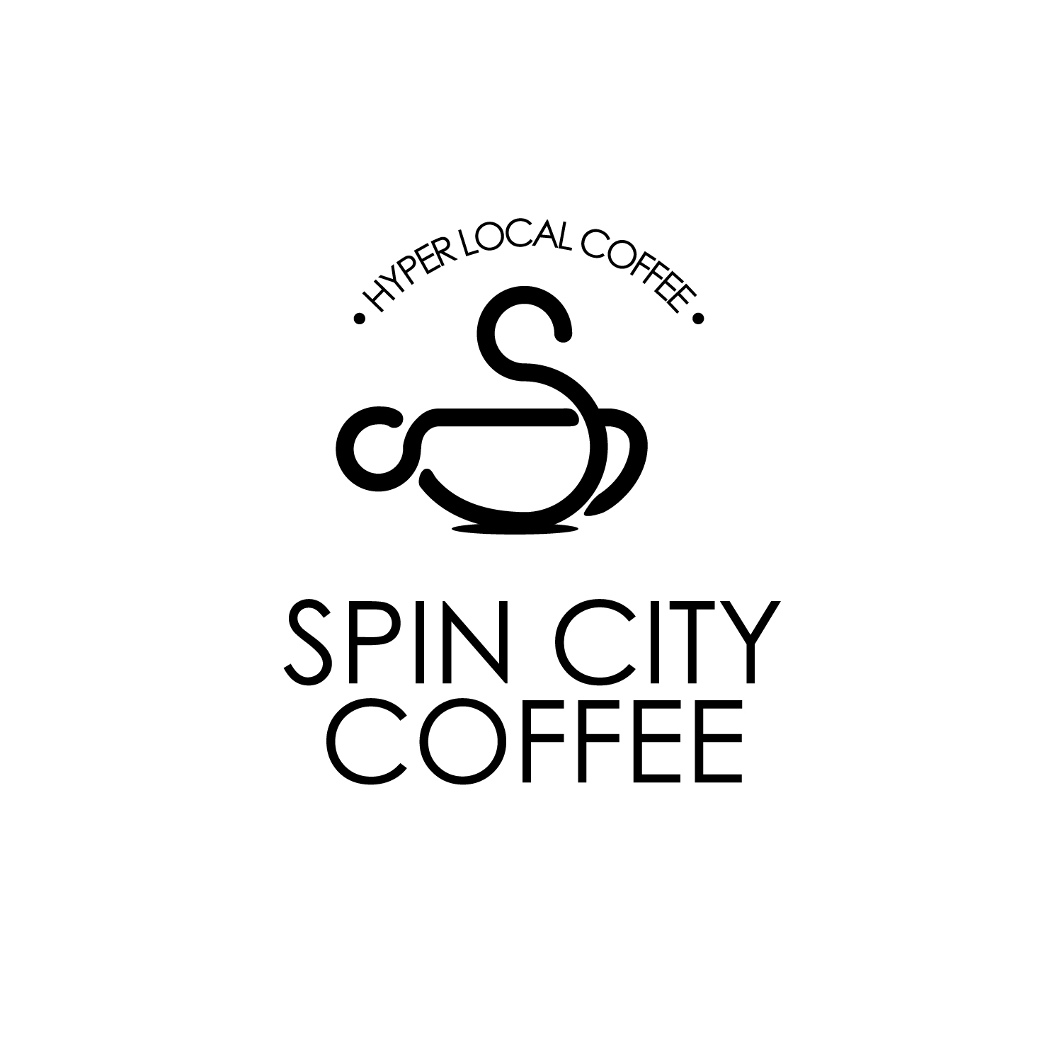 Spin City Coffee, San Francisco, CA logo