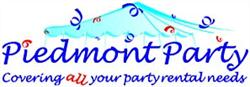 Piedmont Party Rentals, Oakland, CA logo