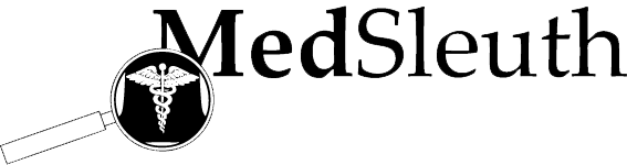 MedSleuth, San Francisco, CA logo