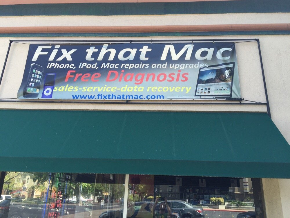 Fix that Mac, Berkeley, CA logo