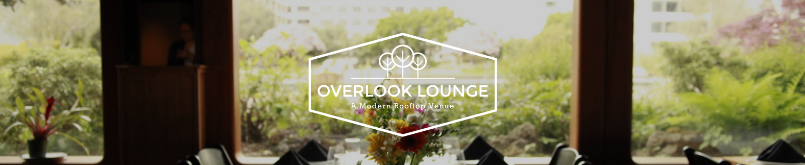 The Overlook Lounge, Oakland, CA logo
