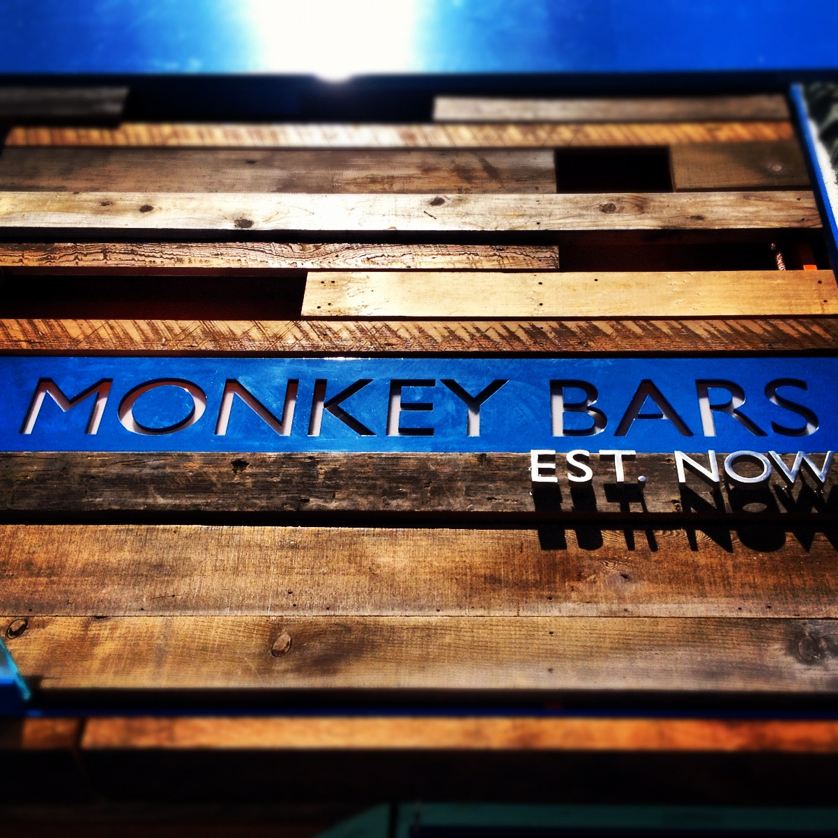 Monkey Bars, Alameda, CA logo