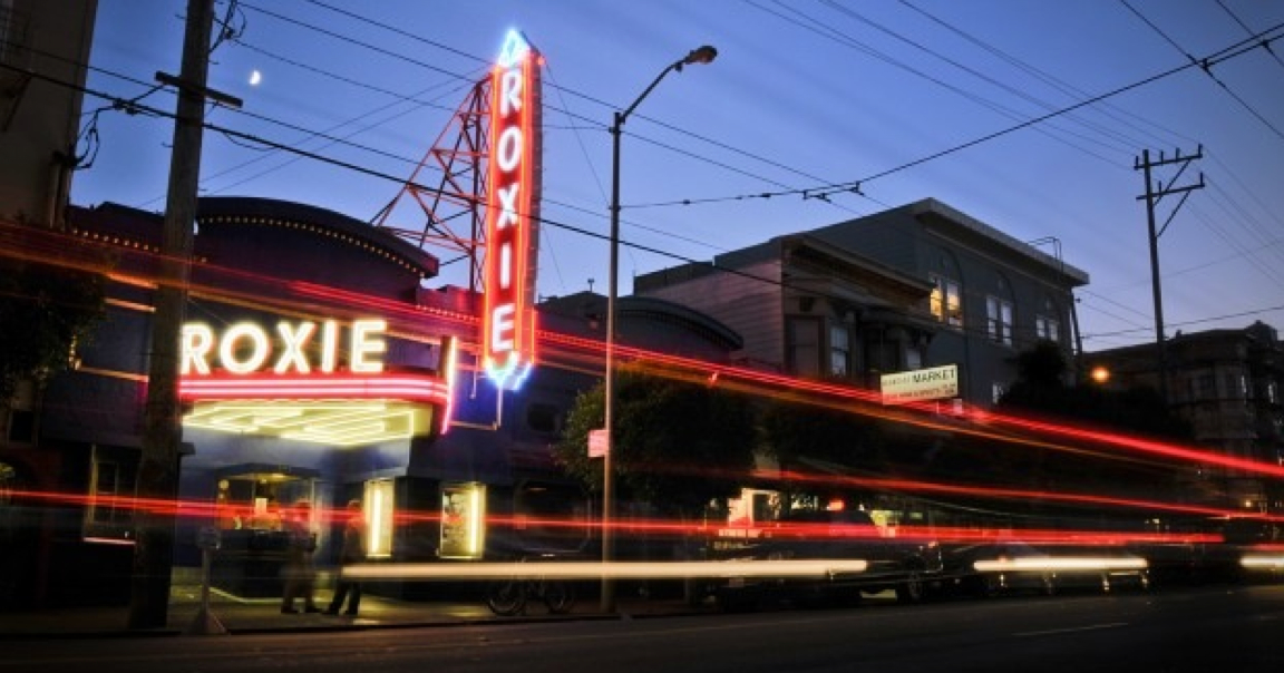 The Roxie Theater, San Francisco, CA logo