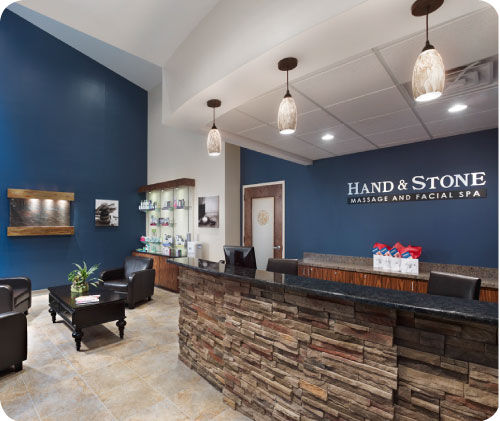 Hand and Stone Massage and Facial Spa, Dublin, CA logo