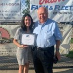 Clinton Plant Receives Chamber Distinguished Business of the Year Award