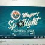 Clinton Featured in Mayor Spotlight