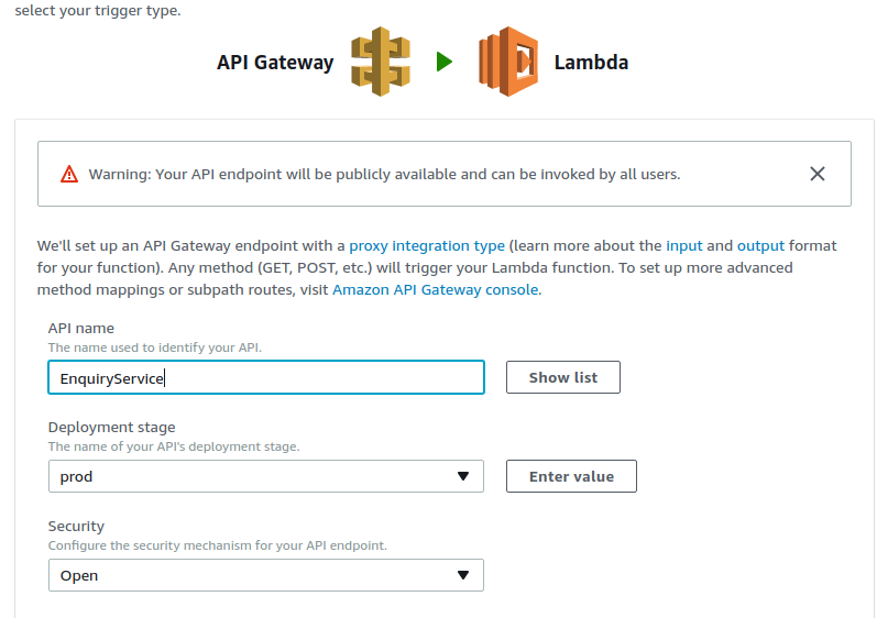AWS Lambda with API Gateway Integration | Lysender's Daily Log Book