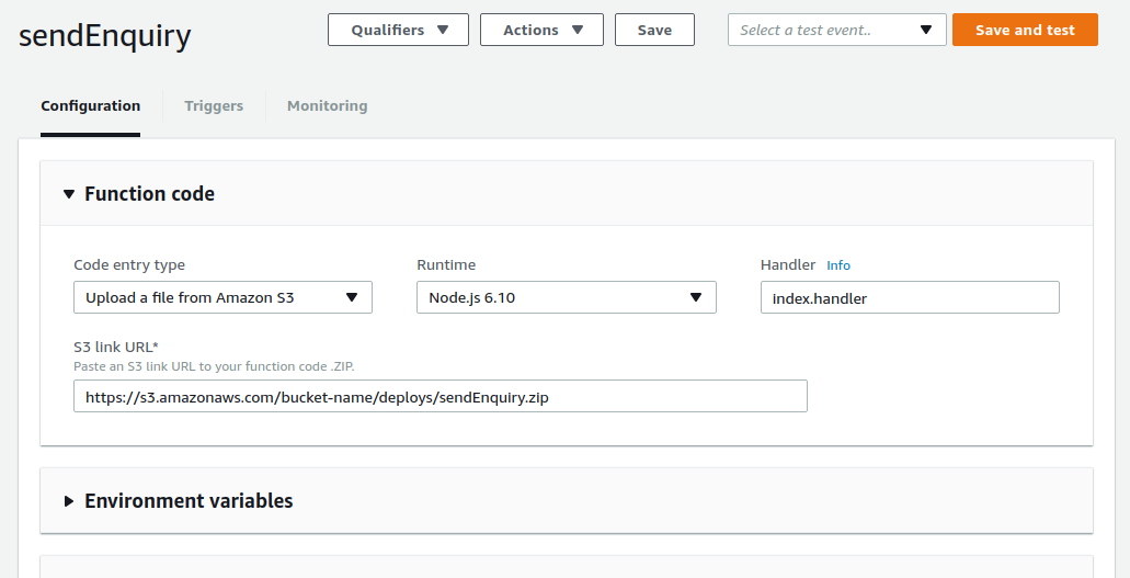 AWS Lambda with API Gateway Integration | Lysender's Daily Log Book