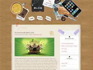 WordPress Theme - Desk Mess