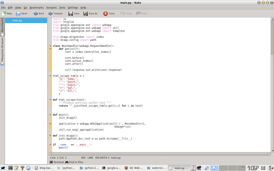 Installing Google App Engine Python SDK in Slackware | Lysender's
