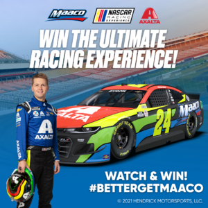 Watch Maaco Go with William Byron in the NASCAR Cup Series