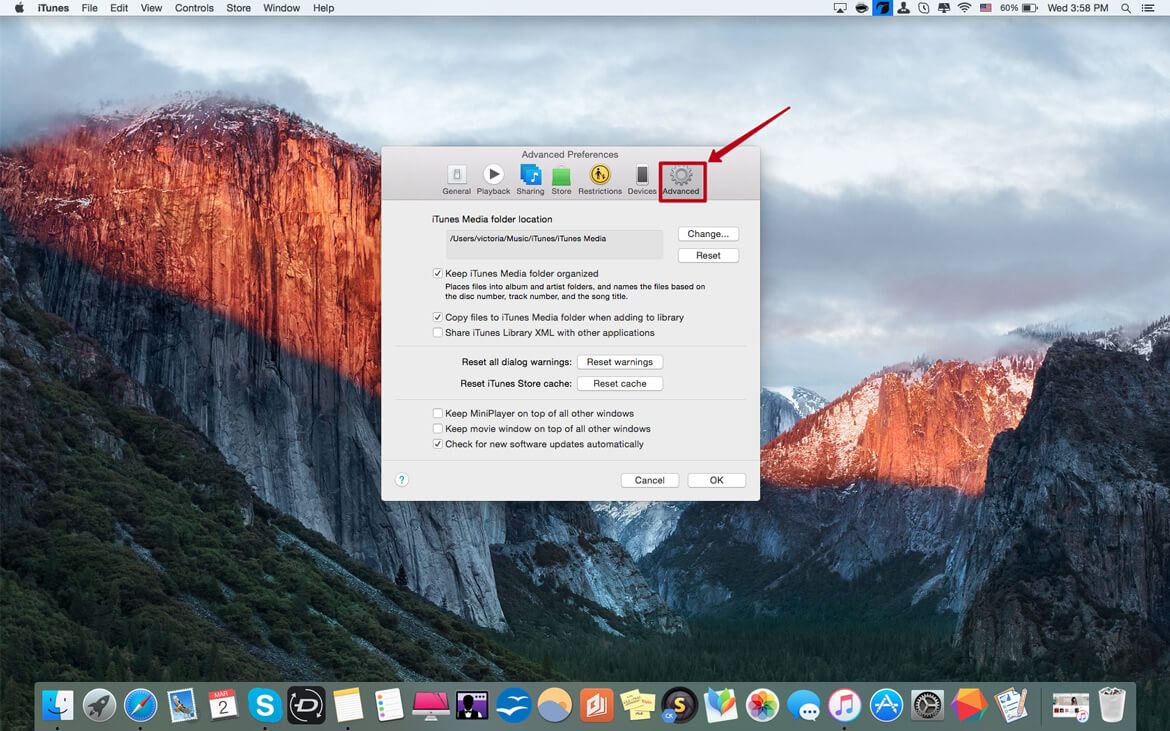How to Move Your iTunes Library to an External Drive on Mac image3