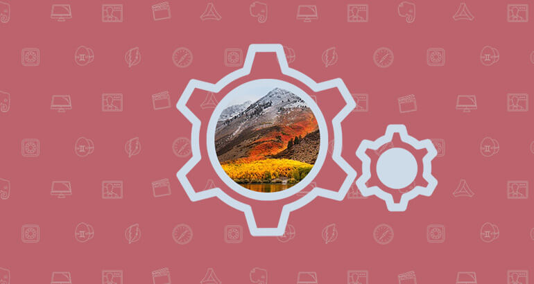 MacOS High Sierra: New Options