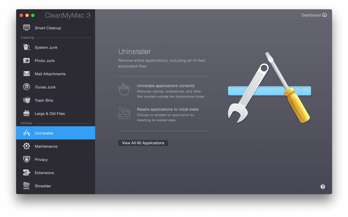 Uninstaller Welcome Screen