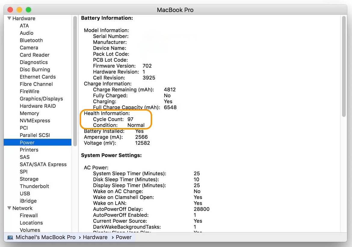 how improve macbook battery cycle count image1