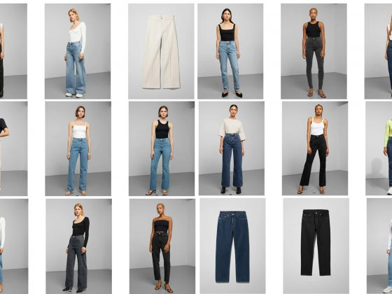H&M Size-Free denim