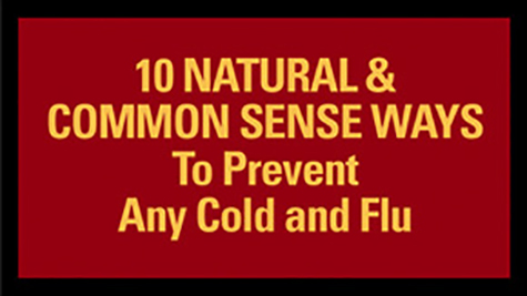 10 NATURAL & COMMON SENSE WAYS