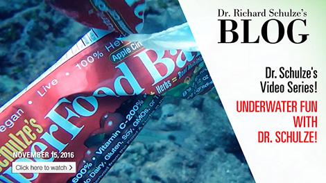 Underwater Fun with Dr. Schulze!
