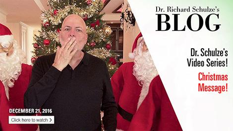 Dr. Schulze's Christmas Message!