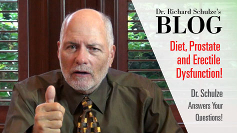 Diet, Prostate and Erectile Dysfunction!