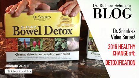 2016 Healthy Change #4: DETOXIFICATION!