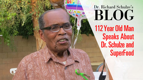 112-Year-Old Man Speaks About Dr. Schulze and SuperFood