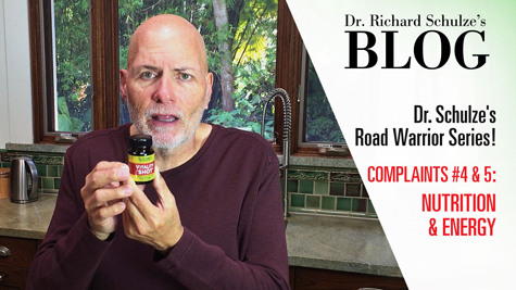 Road Warrior Series: Top 10 Travel Complaints <br>Complaints #4 & 5: Nutrition & Energy