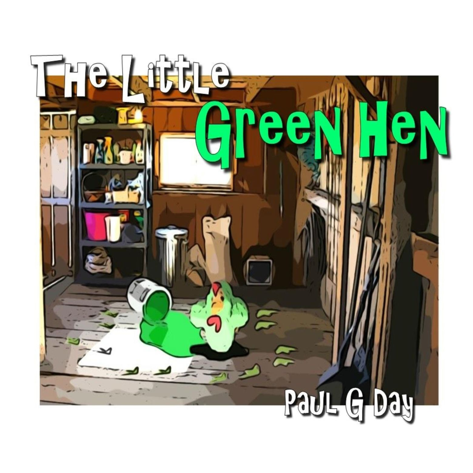 Reading The Little Green Hen by Paul G Day | MagicBlox Online Kid's Book