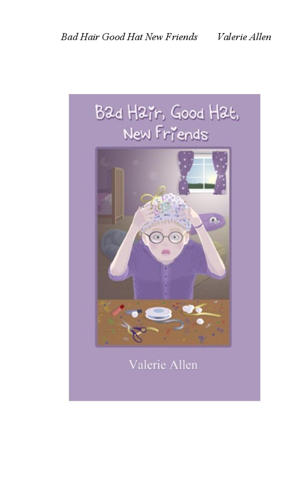 Reading Bad Hair, Good Hat, New Friends by Valerie Allen