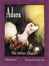 Adora the Albino Alligator