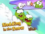 Om Nom - Sledding in the Snow