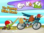 Om Nom - The Funny Bike Race